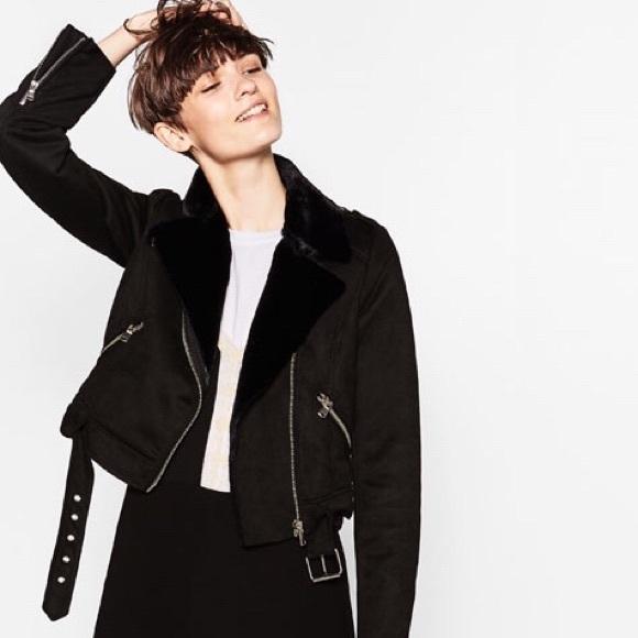 6980a115 Zara Jackets & Coats   New Moto Jacket   Poshmark